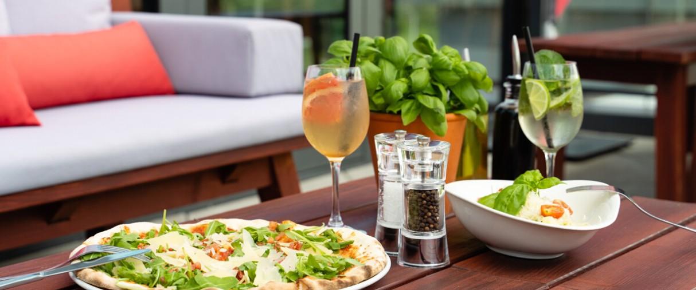 Ve Vapianu patří k dobrému jídlu i dobré pití.