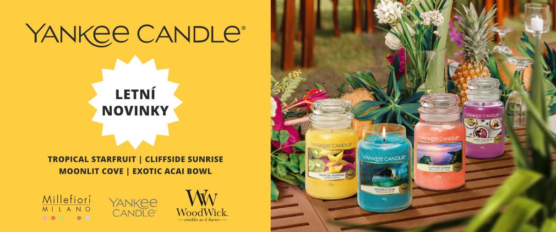 Letní novinky Yankee Candle