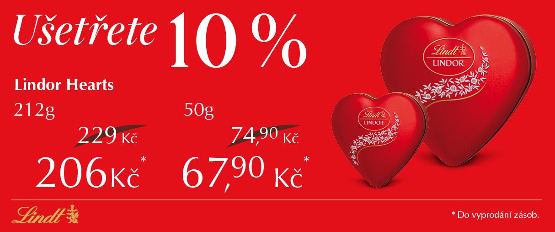Valentýnská nabídka -10%
