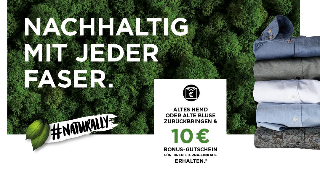 Mit Nachhaltigkeit 10 € Bonus-Gutschein sichern
