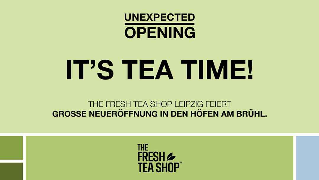 Neuzugang: THE FRESH TEA SHOP Leipzig
