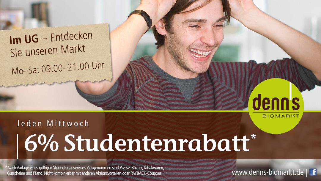 Studentenrabatt