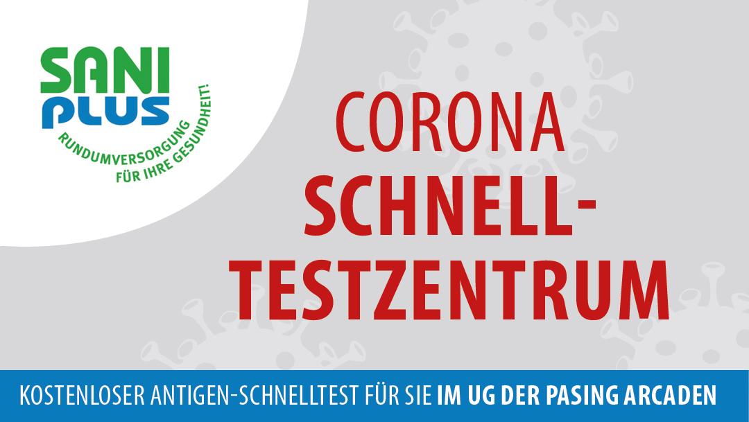 Kostenloses Corona Testzentrum