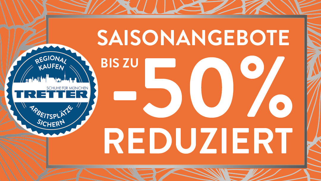 Spare 50% bei Tretter