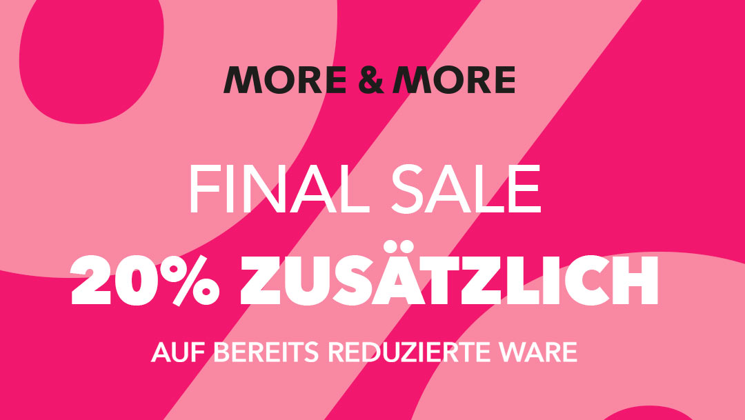 Summer Sale bei More&More