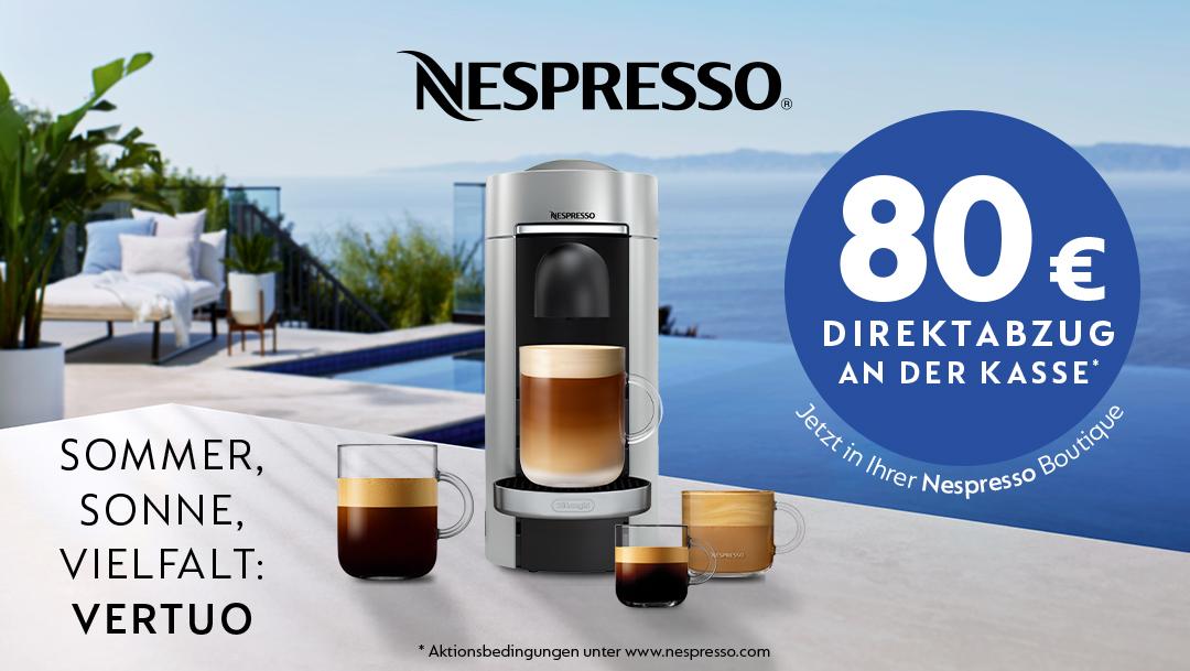 Sommer bei Nespresso