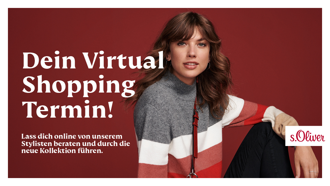 Virtual Shopping bei s.Oliver