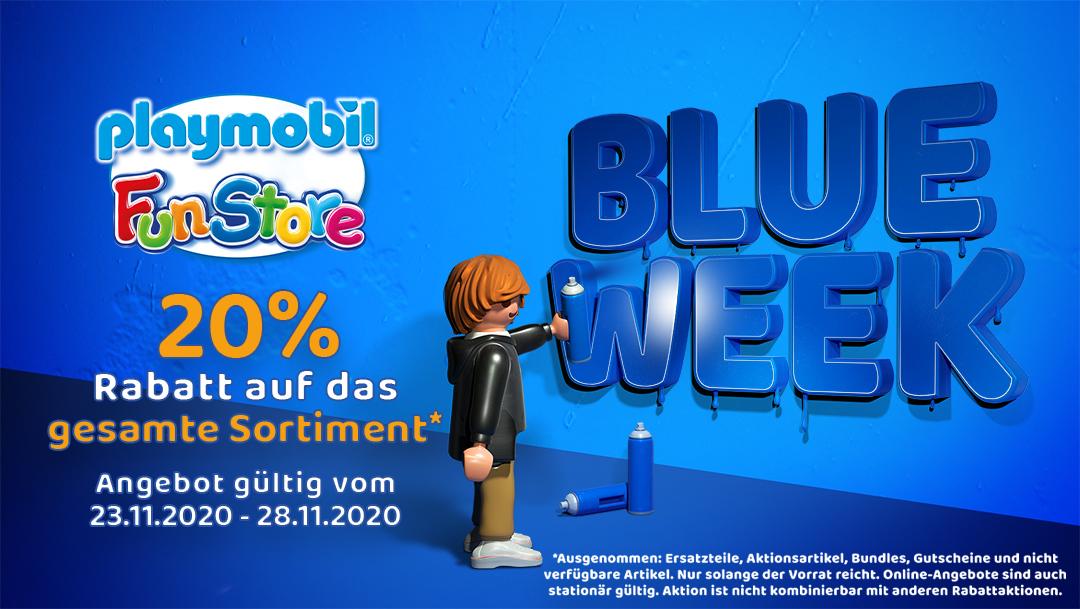 Blue Week bei Playmobil