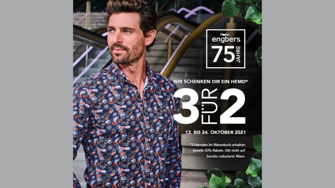 Engbers: 3 für 2 Hemd