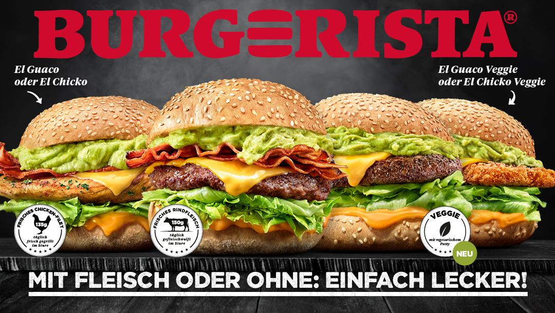 Different Patty- Full Burgerista Taste