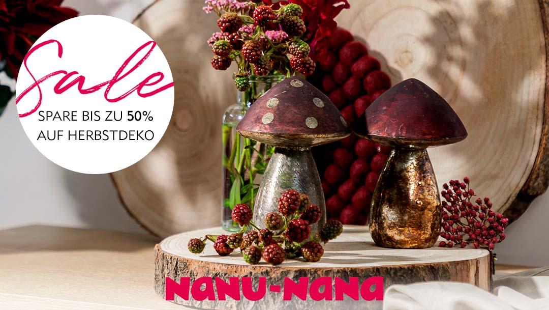Herbstsale bei Nanu-Nana!