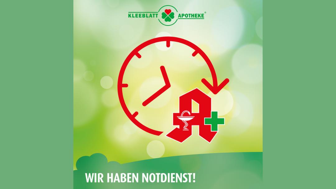 Notdienst der Kleeblatt-Apotheke