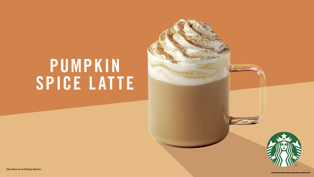 Wieder bei Starbucks: Pumpkin Spice Latte