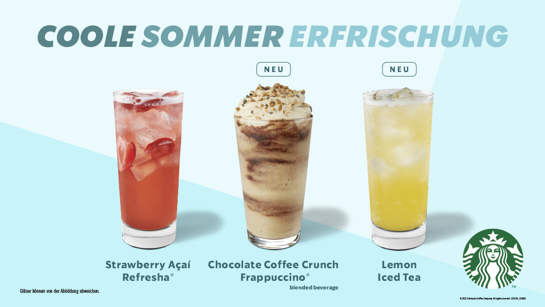 Coole Sommer Erfrischung
