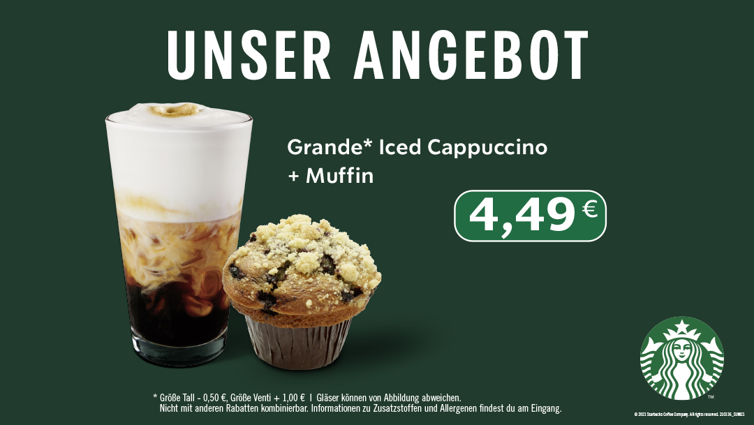Iced Cappuccino + Muffin