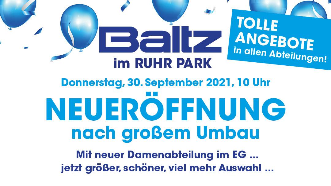 Neueröffnung bei Baltz