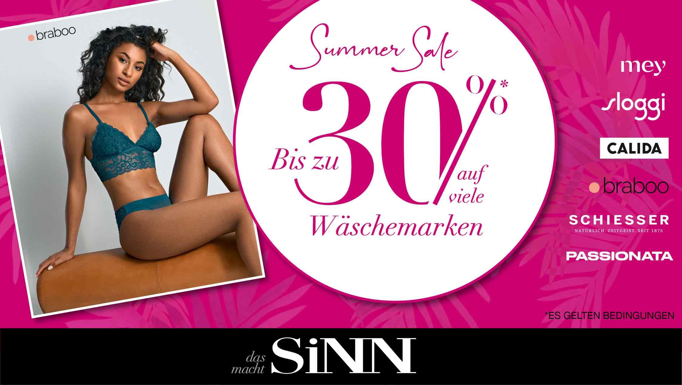 Summer Sale bei SiNN