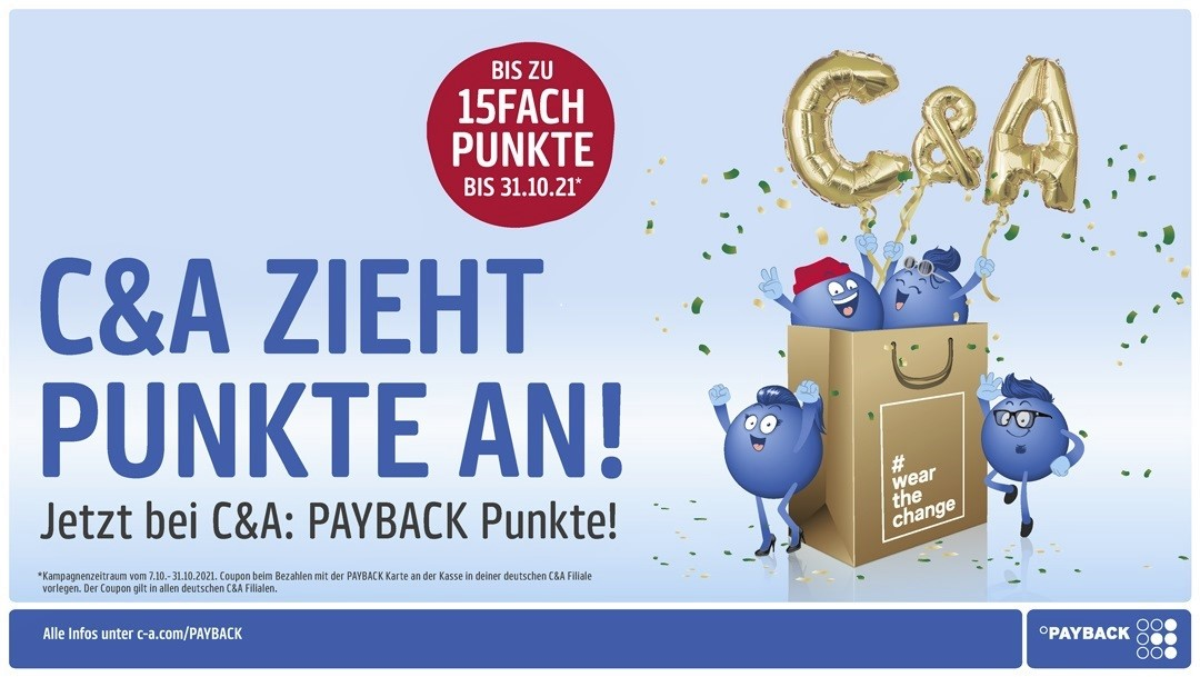 PAYBACK PUNKTE BEI C&A