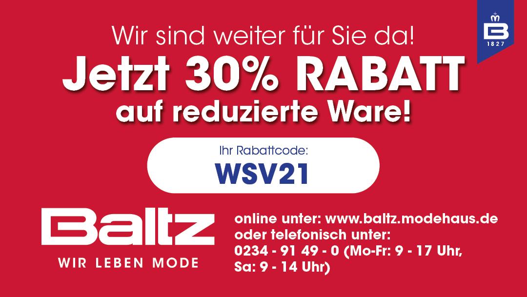 Tolle Online-Rabatte bei Baltz