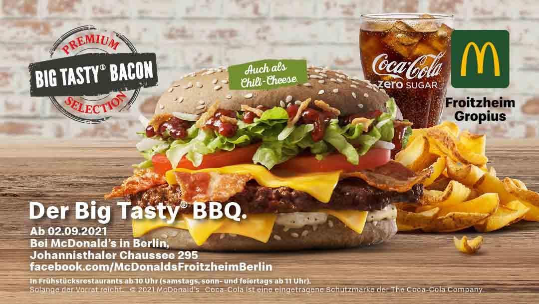 Big Tasty Bacon - Premium Selection