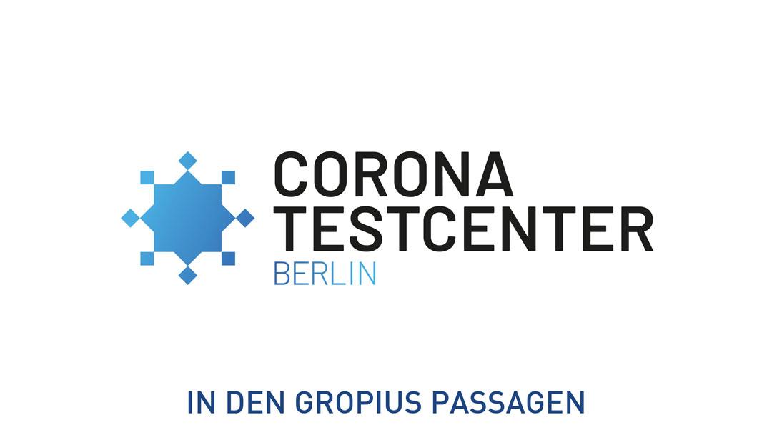 Corona Testcenter in den Gropius Passagen