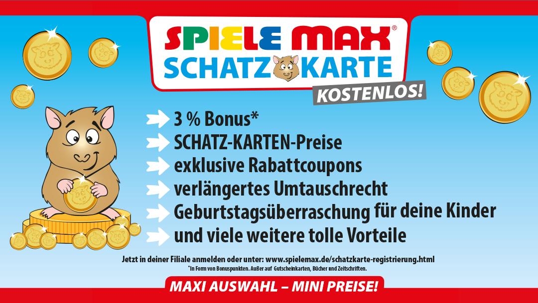 Deine SPIELE MAX Kundenkarte - deine Vorteile!