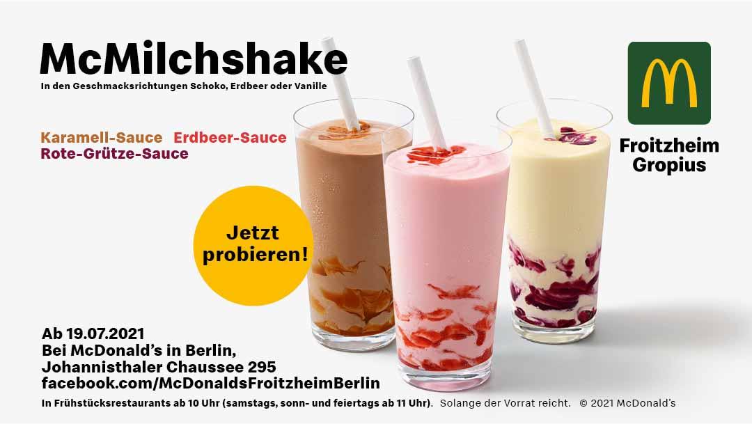 Neue Eissorten bei McDonalds!