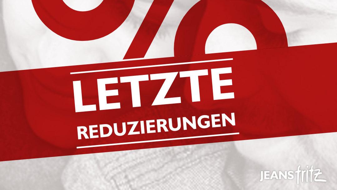Letzte Reduzierungen bei Jeans Fritz