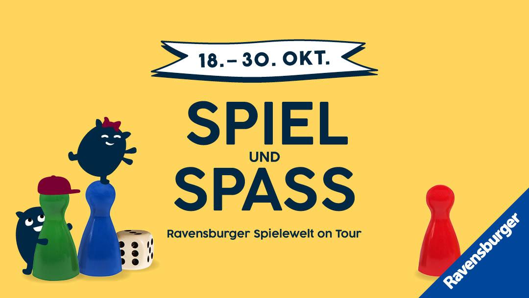 Die Ravensburger Spielewelt zu Gast im P.C.