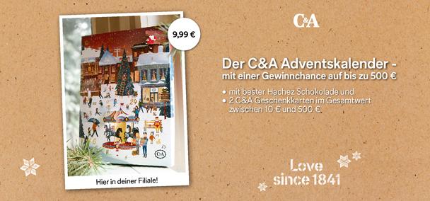 Der C&A Adventskalender ist da!