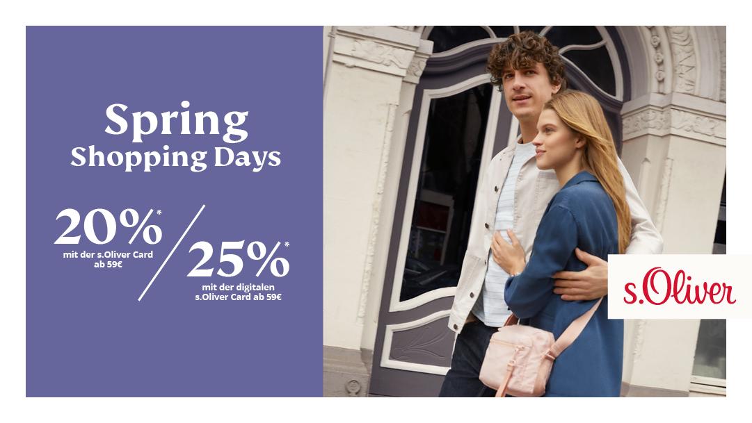 Spring Shopping Days
