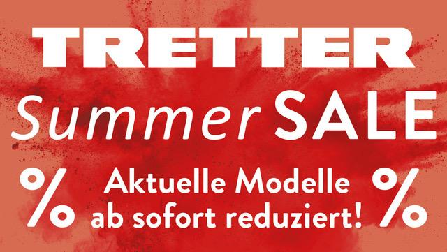 SUMMER Sale bei TRETTER