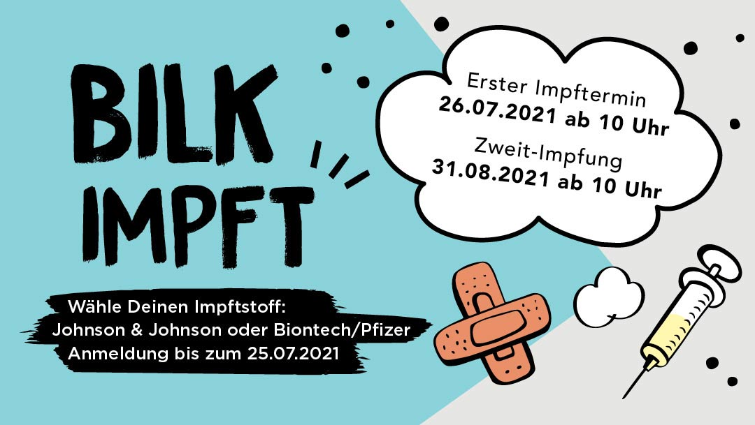 Pop-Up: Impfmöglichkeit in den Düsseldorf Arcaden