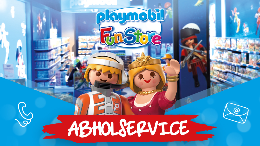 Call & Collect im Playmobil FunStore