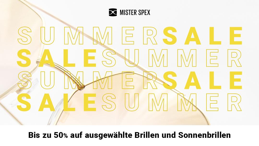 Summer Sale bei Mister Spex