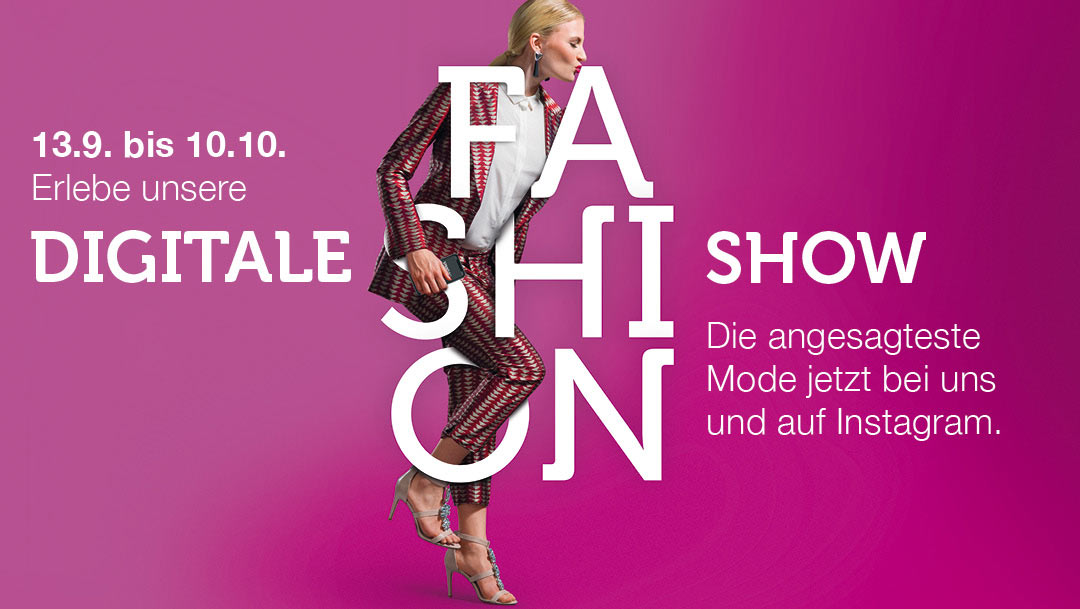 Digitales Fashion-Event!