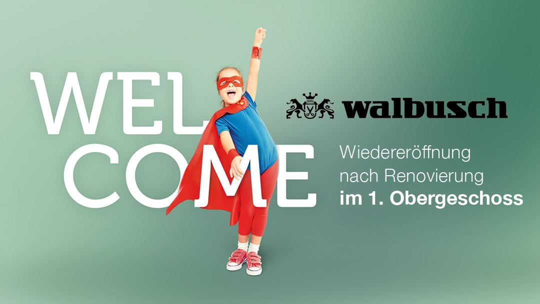 Wiedereröffnung Walbusch