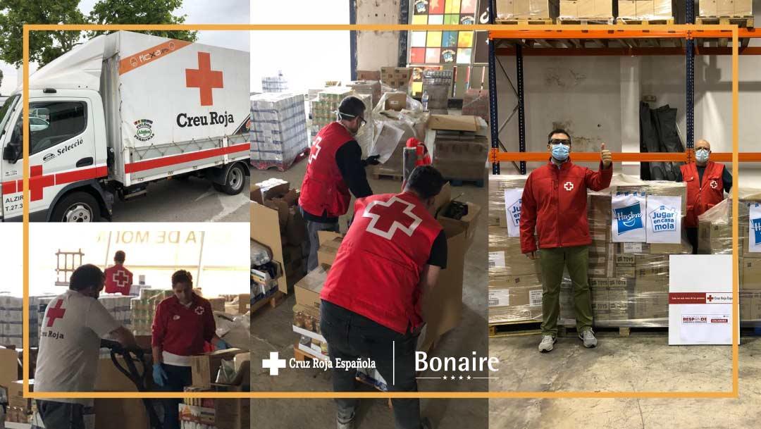 Bonaire y Cruz Roja