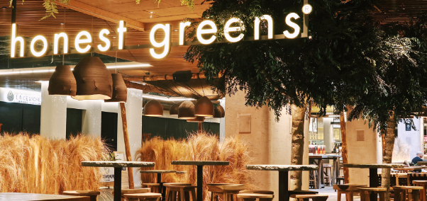 Honest Greens, ¡nuevo restaurante en Westfield Glòries!