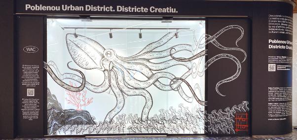 Ruta de Arte en Westfield Glòries