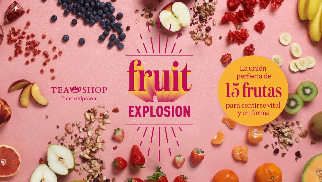¡FRUIT EXPLOSION DE TEA SHOP!