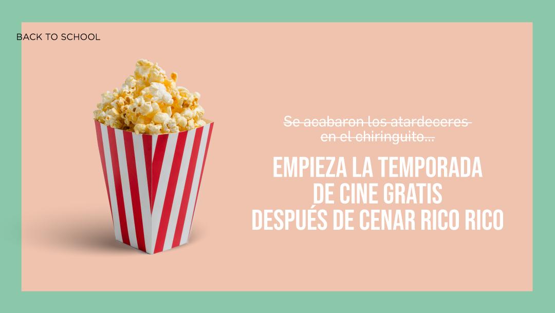 VUELVEN LAS ENTRADAS DE CINE GRATIS