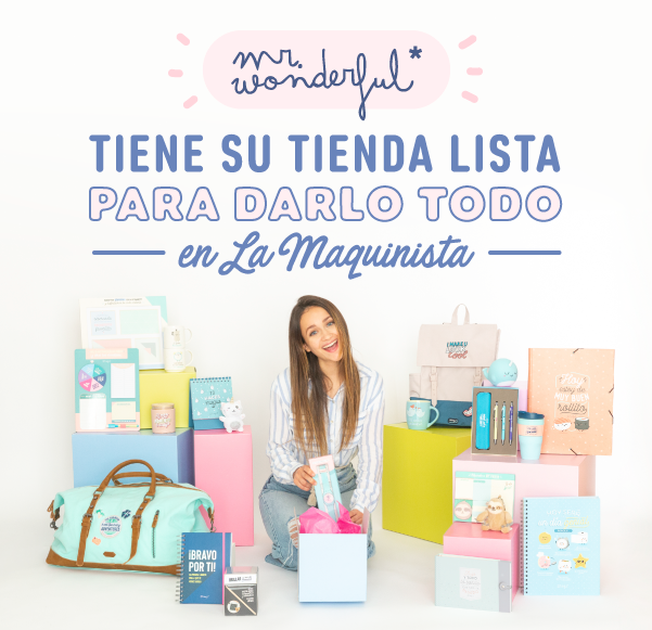 ¡MR.WONDERFUL LLEGA A LA MAQUINISTA!