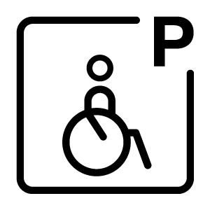 Plazas aparcamiento PMR
