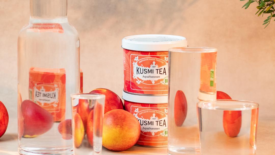 Découvrez la nouvelle recette bio Kusmi Tea !