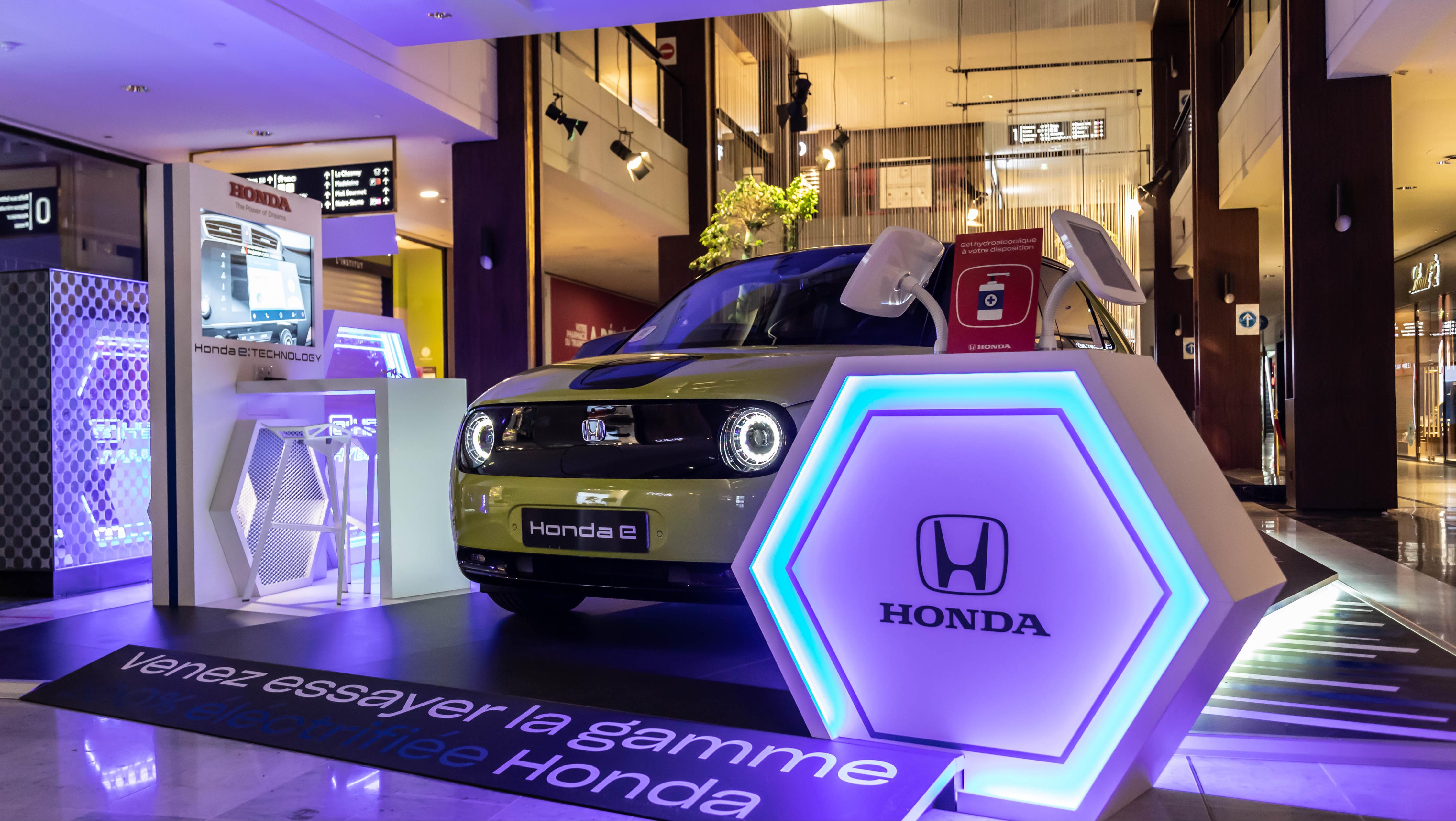 Découvrez la nouvelle gamme électrique Honda !