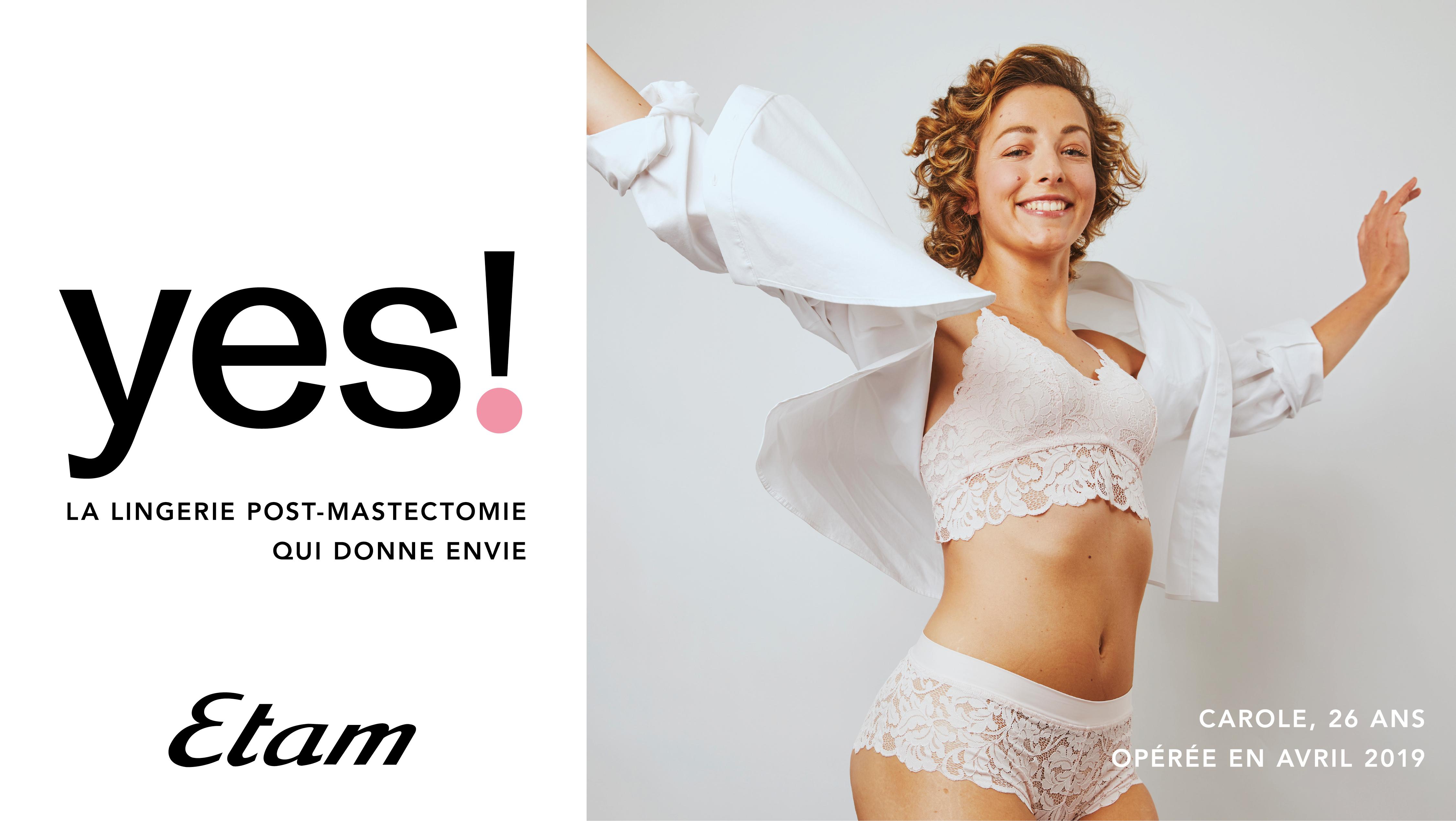 ETAM - Lingerie post mastectomie