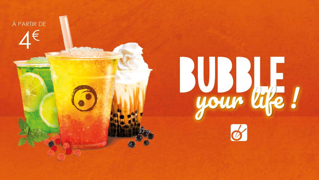 Bubble your life chez Woko