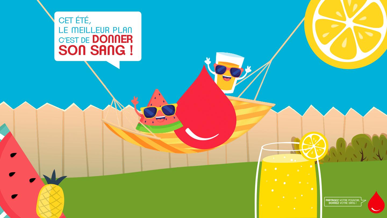 Cet été, donnez votre sang !