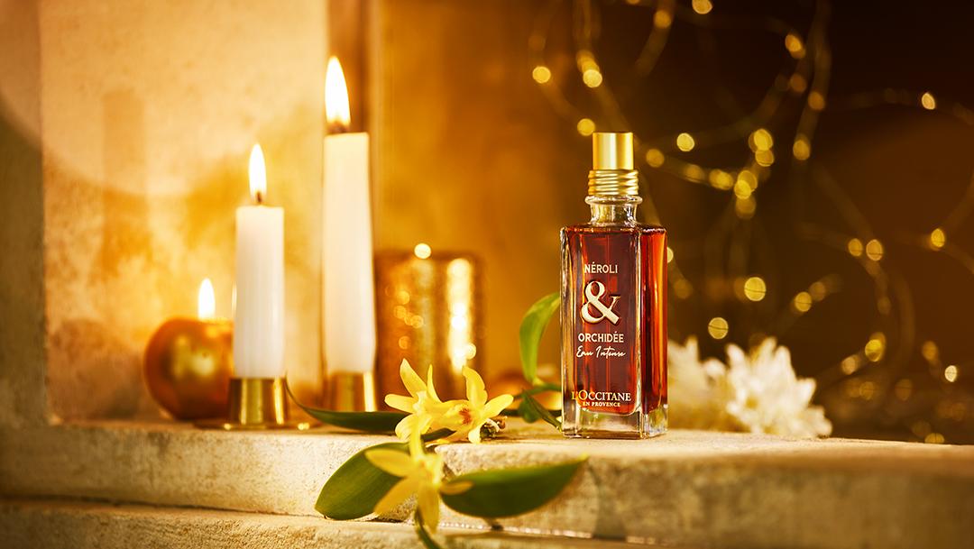Découvrez la nouveauté Néroli & Orchidée Eau Intense chez L'Occitane en Provence !